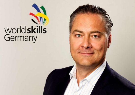 Peter Schöler ist auch ehrenamtlich als Vorstandsmitglied von WorldSkills Germany tätig.