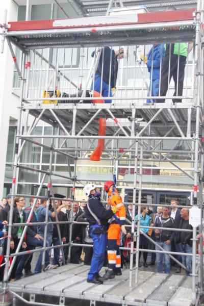 Station 1: Schachtbergung - DWA - Mitglied WorldSkills Germany