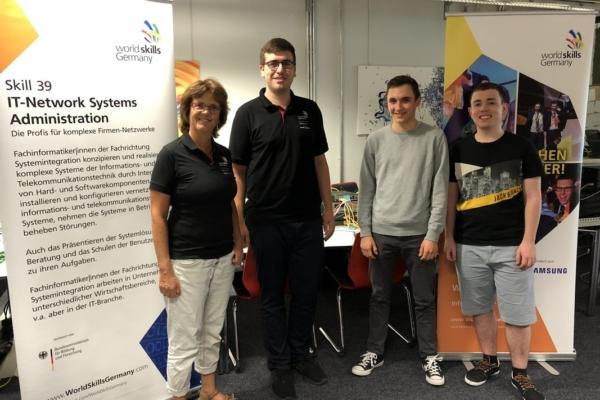 Training Disziplin IT Network Systems Administration - WorldSkills Kasan 2019 - WorldSkills Germany