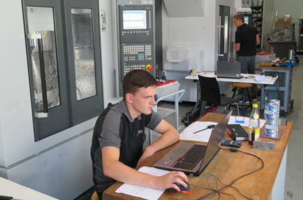 Deutsche Meisterschaft CNC-Fräsen Vorentscheid - WorldSkills Germany