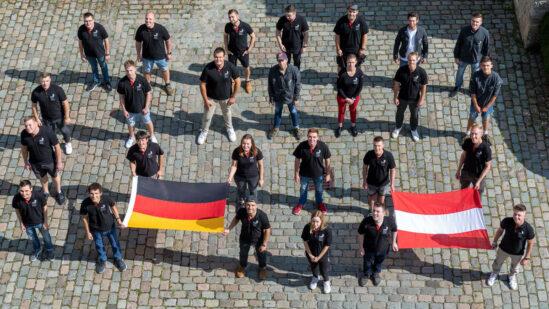 Die deutschen Teilnehmer/innen sind bereit für den Kampf um die Medaillen bei den EuroSkills in Graz. (Foto: Frank Erpinar)