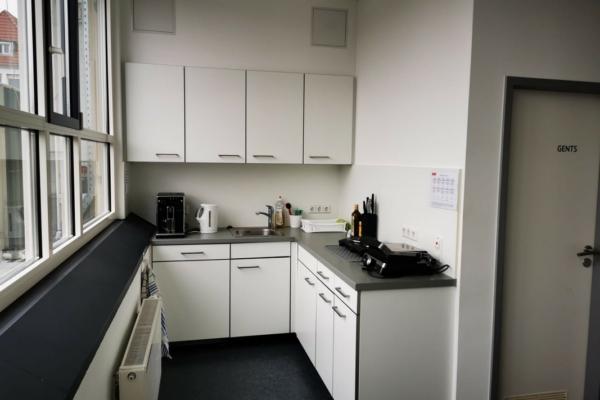 Die Küche wird gemeinschaftlich genutzt