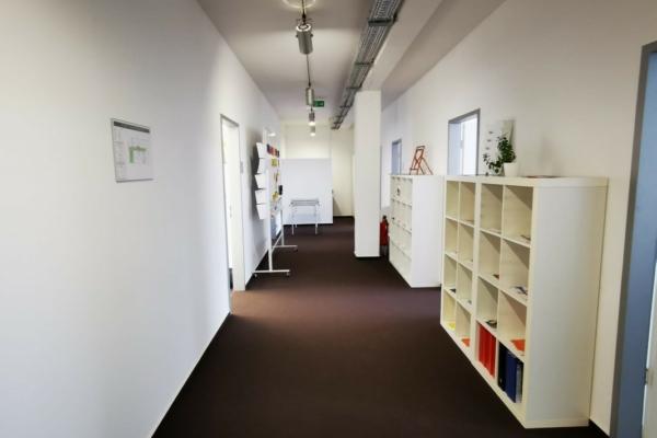 Willkommen auf unserer Büroetage